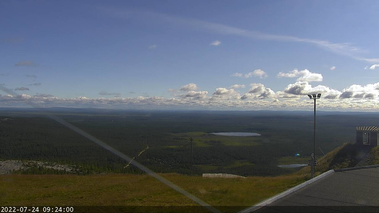 Pyha Express Top Station webcam